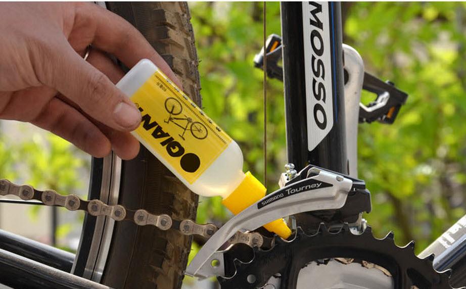 Čišćenje i podmazivanje bicikla
